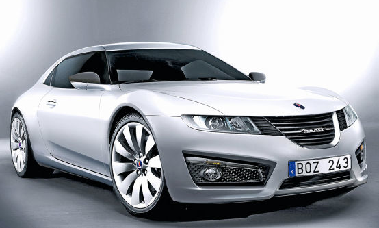 Купе Saab Sonett