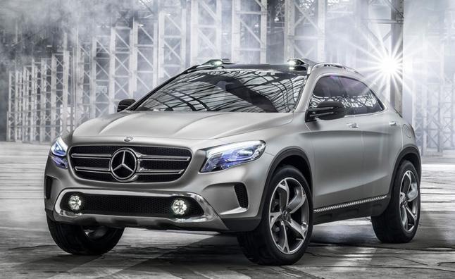 Роскошный новый концепт Mercedes GLA