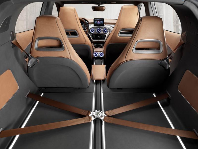 Багажник концепта Mercedes GLA