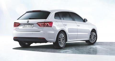 Новый белый универсал Volkswagen Gran Lavida