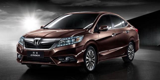 Новый седан Honda Crider 2013