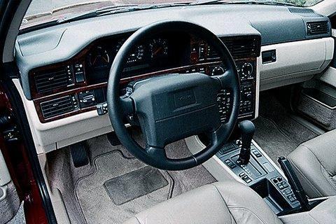 Руль, кпп седана Volvo 850