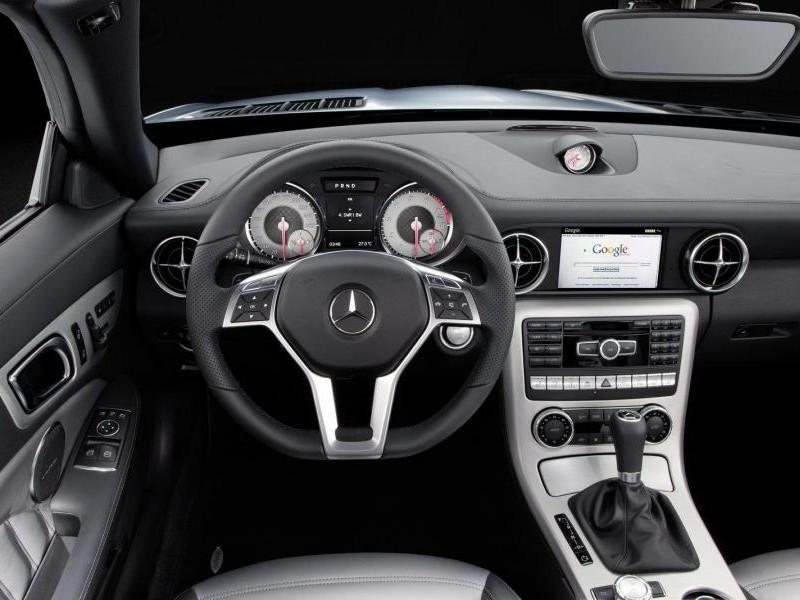 Руль, кпп, консоль, Mercedes SLK