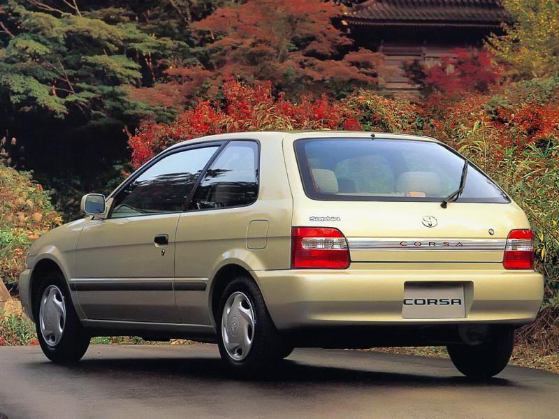 Компактный хэтчбек Toyota Corsa