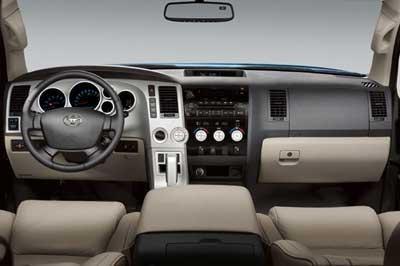 Салон, руль, кпп Toyota Tundra