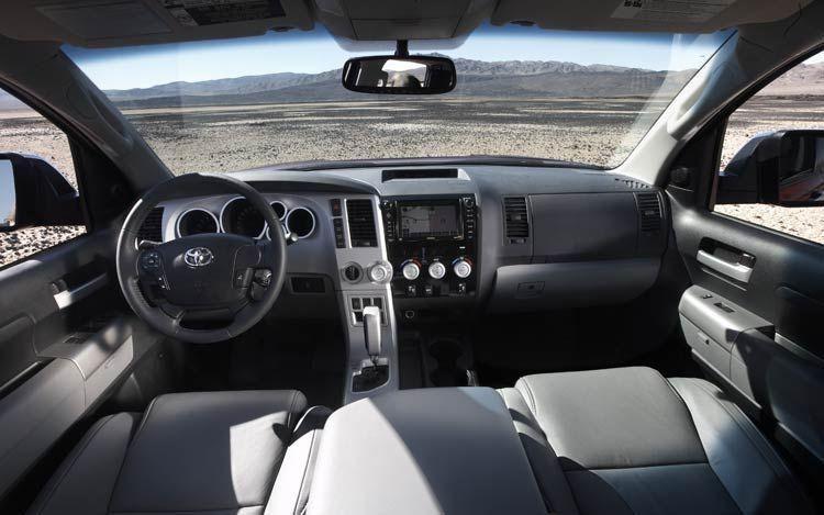 Кожаный салон Toyota Tundra