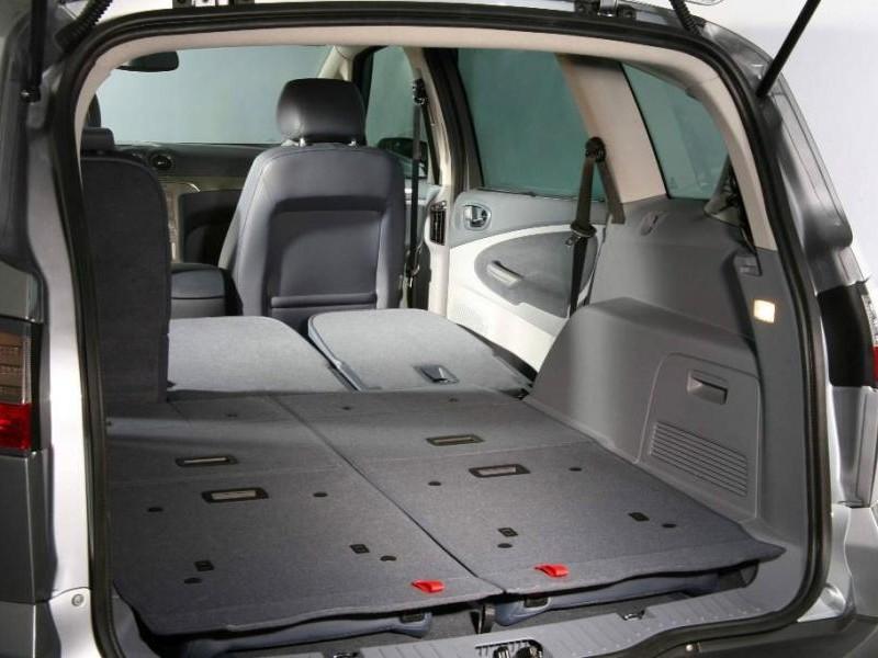 Ford S-Max, багажник