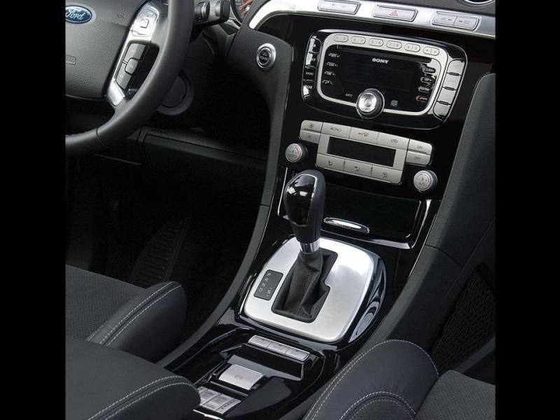 Кпп, руль, консоль Ford S-Max