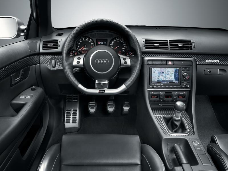 Руль, кпп, консоль, салон Audi RS4