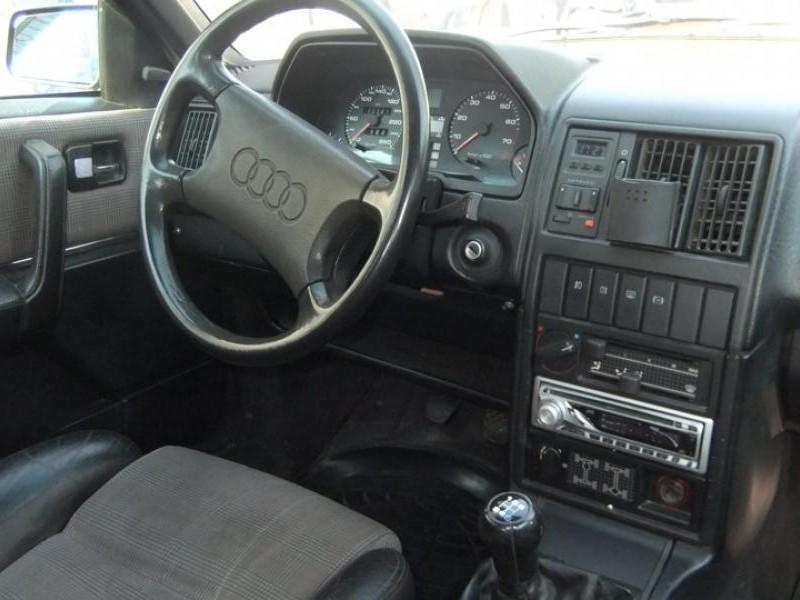 Салон, руль, кпп Audi 200