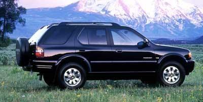 Черный внедорожник Honda Passport вид сбоку