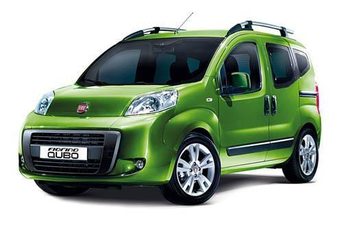 Зеленый просторный минивэн Fiat Florino