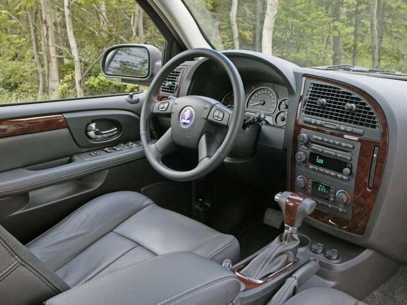 Руль, кпп, приборная панель Saab 9-7x