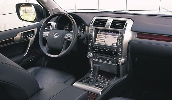 Салон, руль, консоль Lexus GX460
