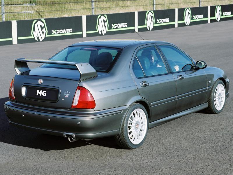 Серебристый MG ZS