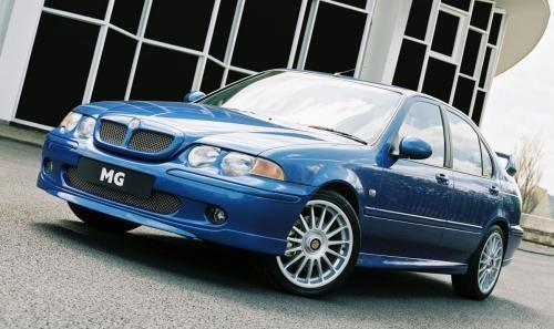 Синий быстрый MG ZS