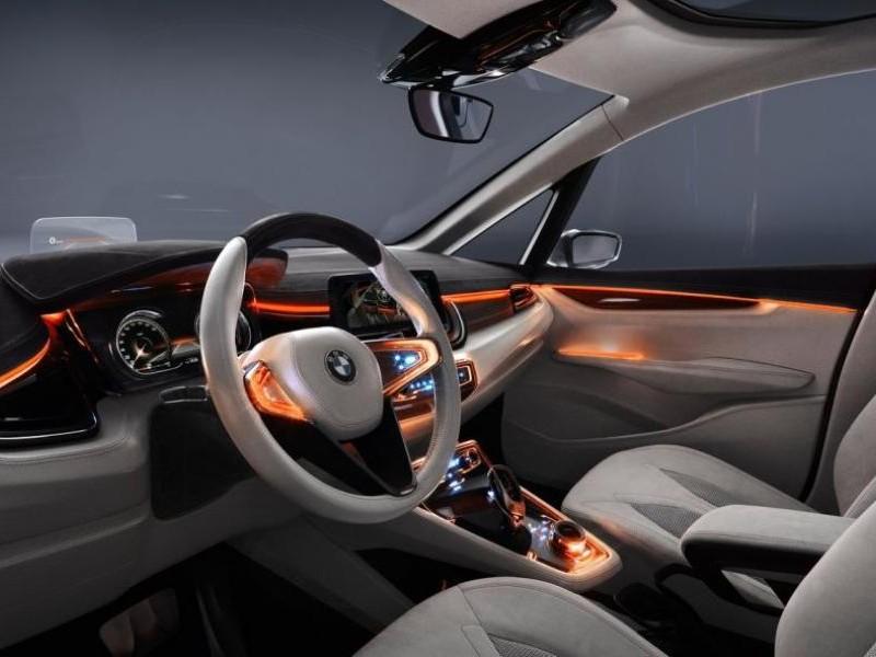 Серый салон BMW 1-Series GT
