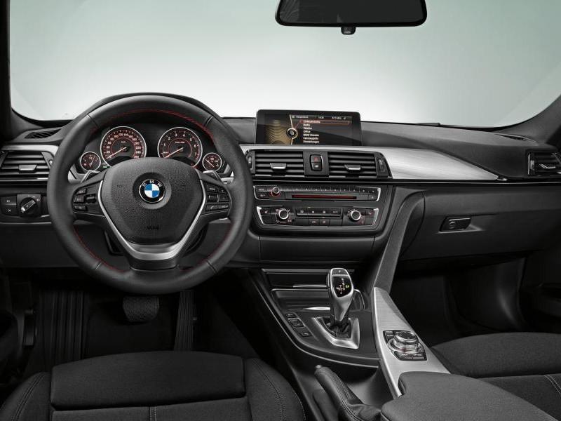 Кпп, руль, салон, консоль BMW M3 (F30) 2013