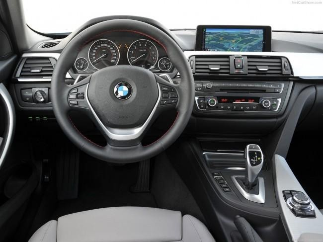 Руль, кпп, консоль BMW 3-Series ActiveHybrid 2013