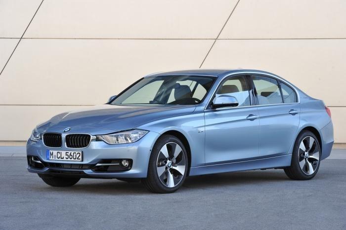 Седан BMW 3-Series ActiveHybrid 2013
