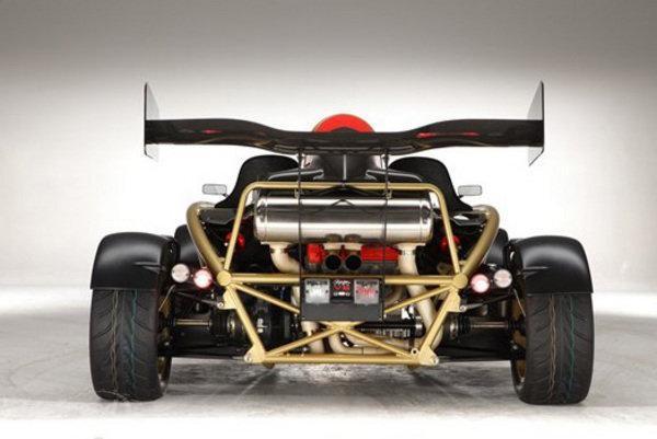 Ariel Atom 500 V8, вид сзади