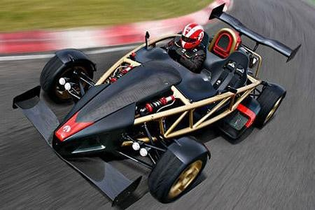 Ariel Atom 500 V8 на трассе