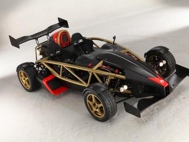 Черный Ariel Atom 500 V8