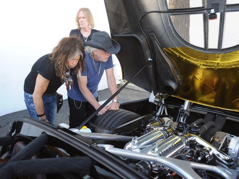 Двигатель Hennessey Venom GT Spyder