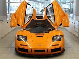 McLaren F1 LM XP1, вид спереди
