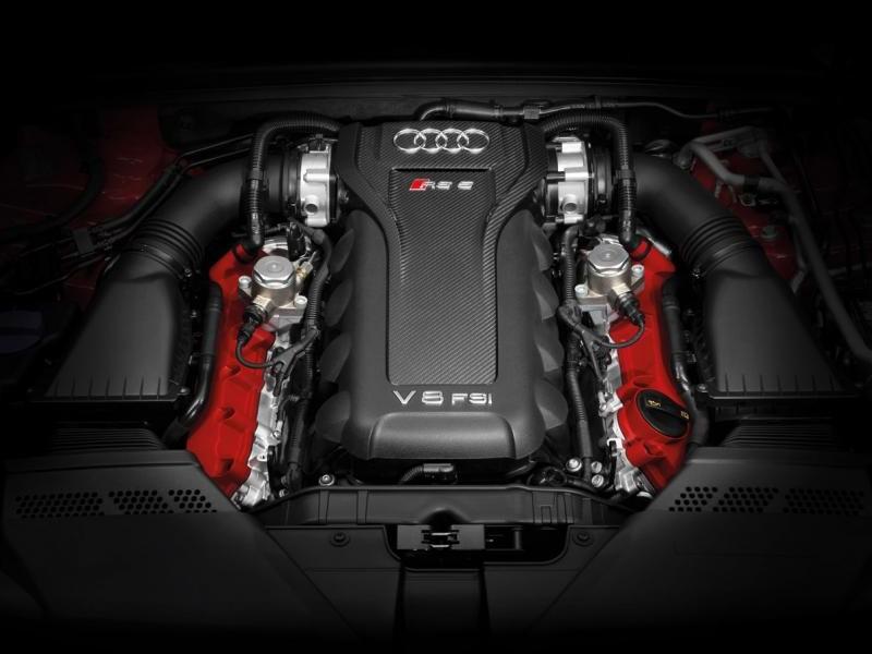 Двигатель Audi RS5 Cabrio