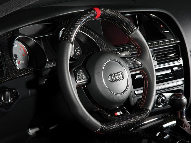 Руль, кпп, консоль Audi S5 Coupe