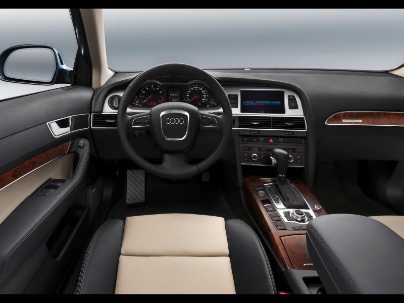 Салон, руль, кпп, консоль Audi A6 Avant