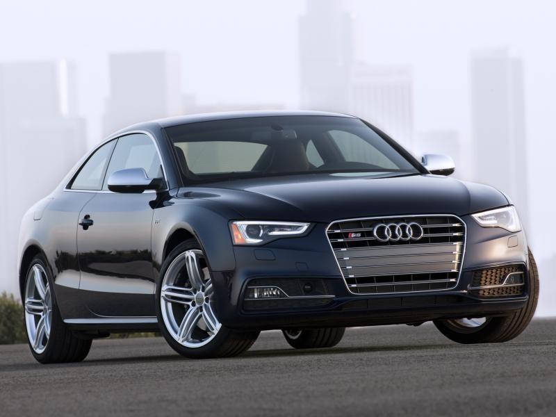 Audi S5 Coupe, вид спереди
