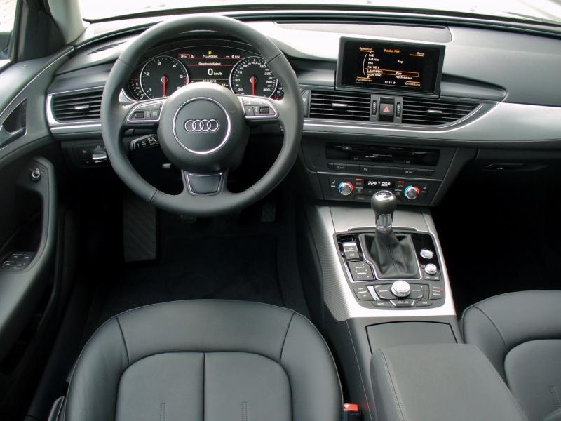 Руль, консоль, кпп Audi A6 Avant