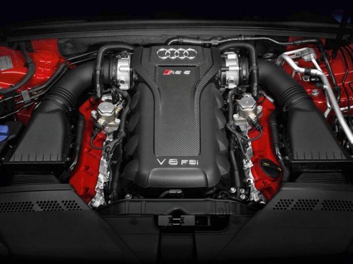 Двигатель Audi S5 Coupe