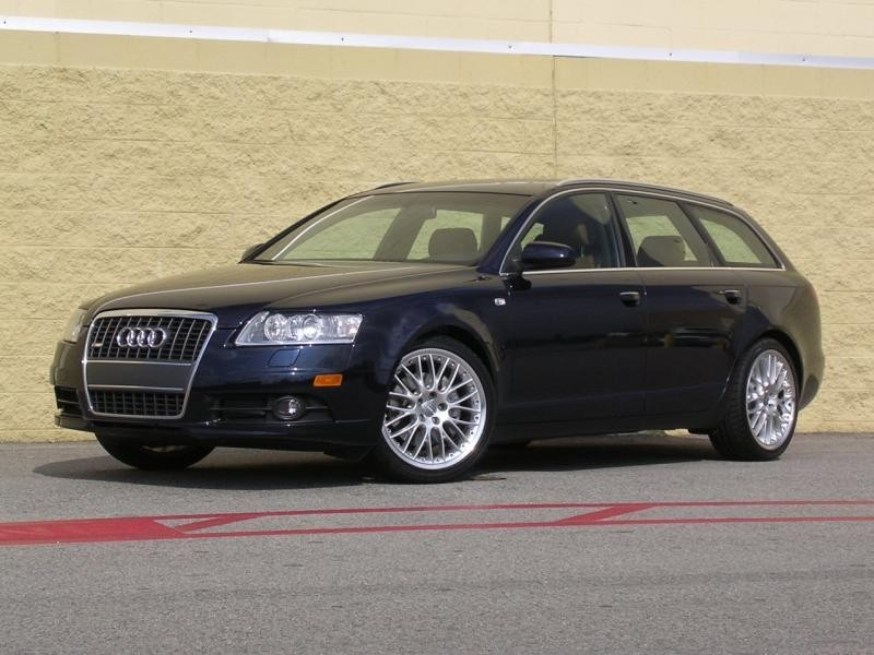 Просторный Audi A6 Avant
