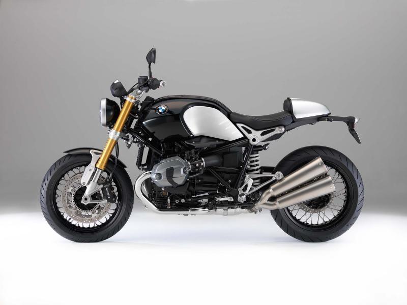 Мотоцикл BMW R nineT вид сбоку