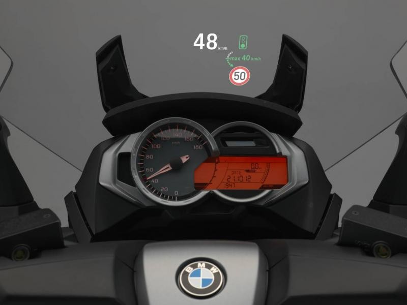 Руль, приборная панель BMW C650 GT