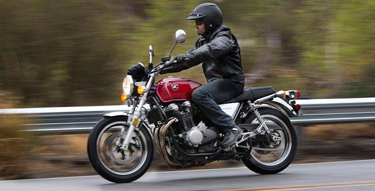 Honda CB1100 вид сбоку