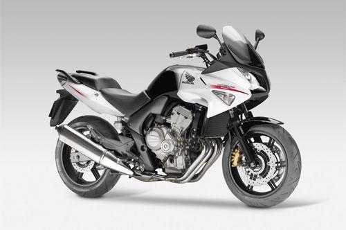 Бело-серый Honda CBF600SA