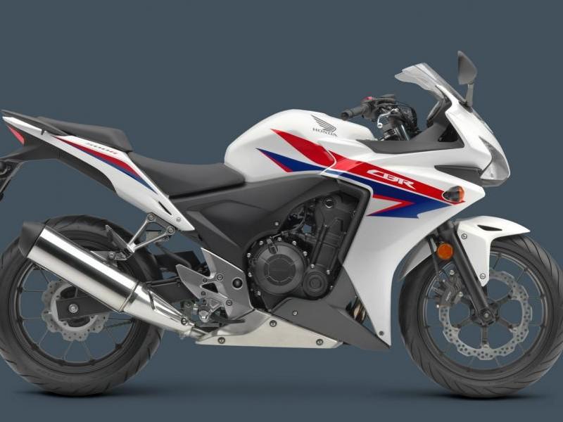 Honda CBR500R вид сбоку