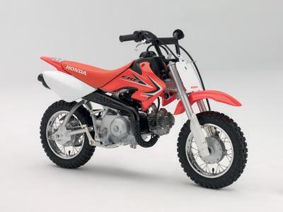 Красный Honda CRF50F