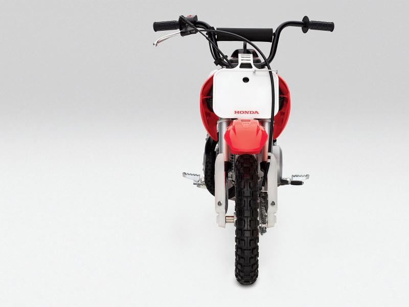 Honda CRF50F, вид сзади