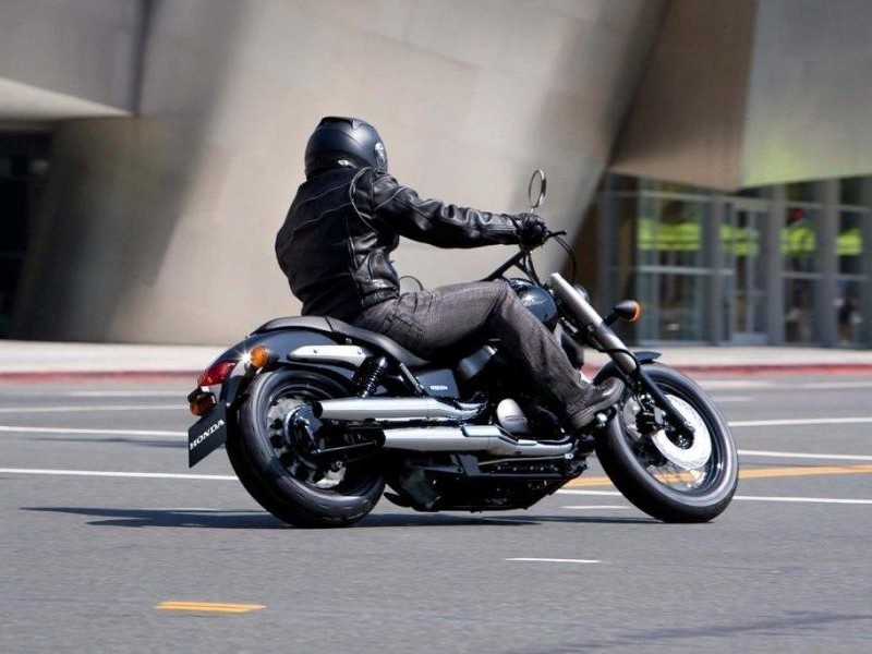 Мотоцикл Honda Shadow 750 Black Spirit