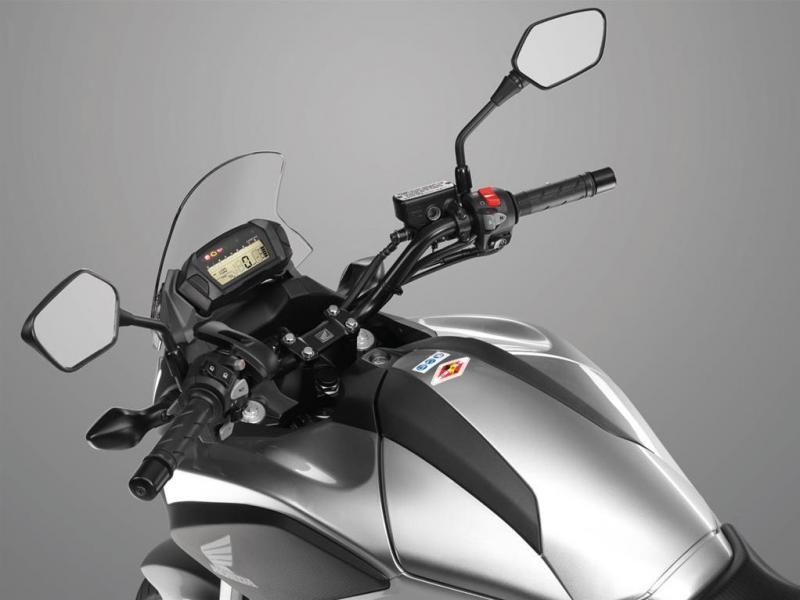 Руль, приборная панель мотоцикла Honda NC700 XD