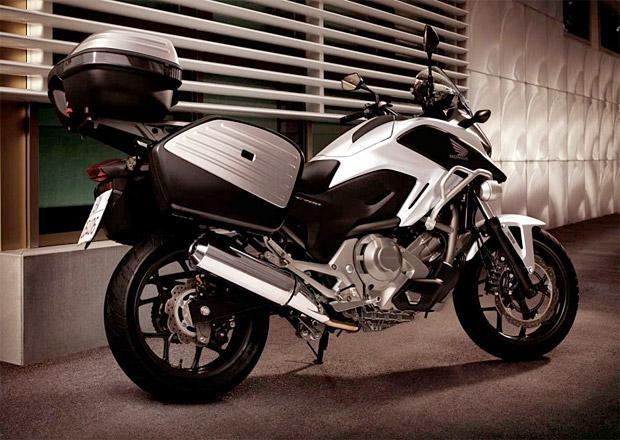 Белый Honda NC700 XD