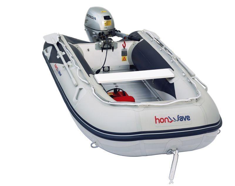 Лодка Honda T35 AE2 вид сверху