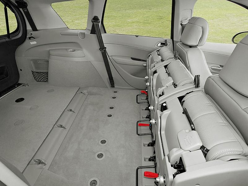 Салон, багажник Peugeot 308 SW