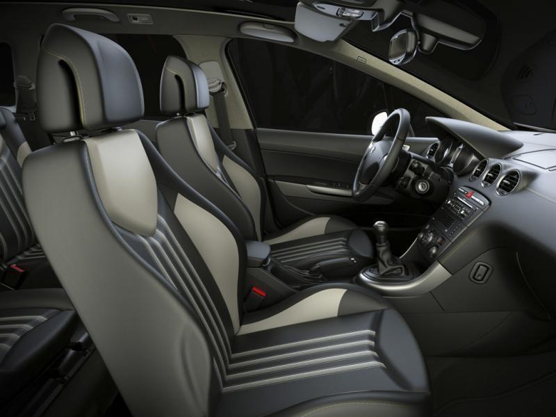 Салон, руль, кпп, консоль Peugeot 308 SW