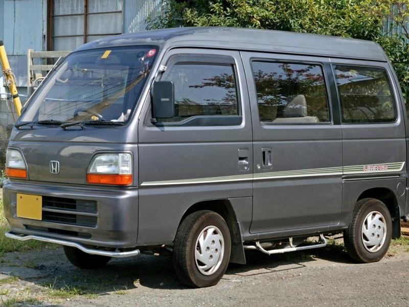 Honda Acty цвета мокрый асфальт